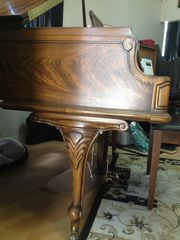 Carved Kimball Grand Piano for sale,  central Illinois,  for pianists