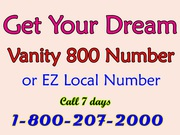 Get your Dream Vanity Phone Numbers and Local Number